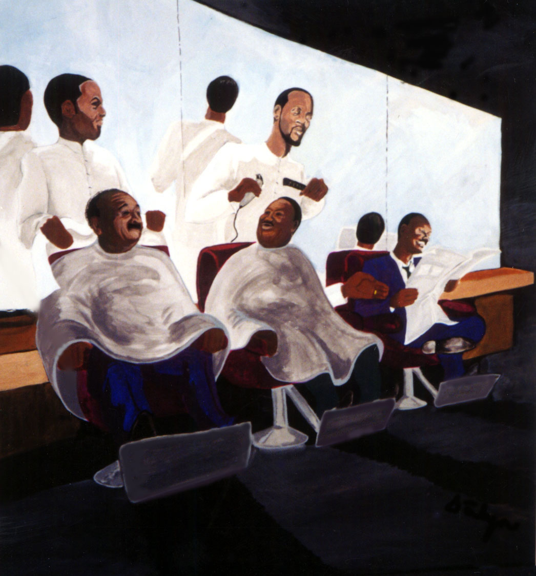 Black Barber Art Pictures to Pin on Pinterest - PinsDaddy