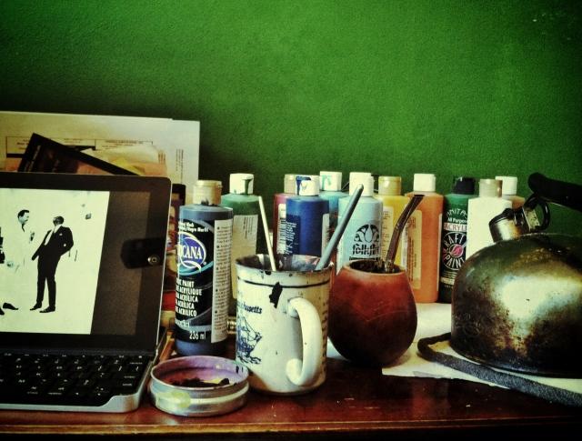 paintson desk