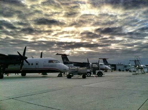 tarmac prop planes