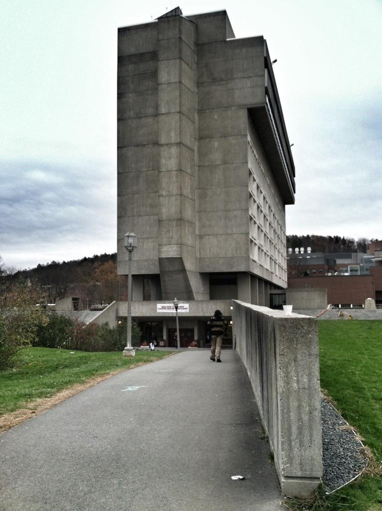 cement student building