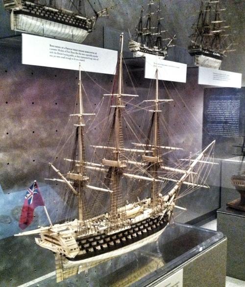 model ship no sails