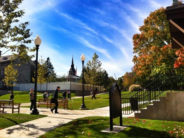 walking campus