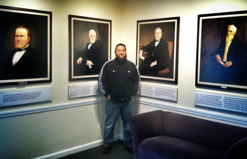 Great beards in Mormonism