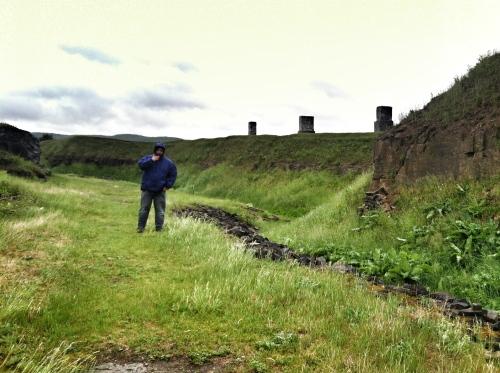 ruins walking
