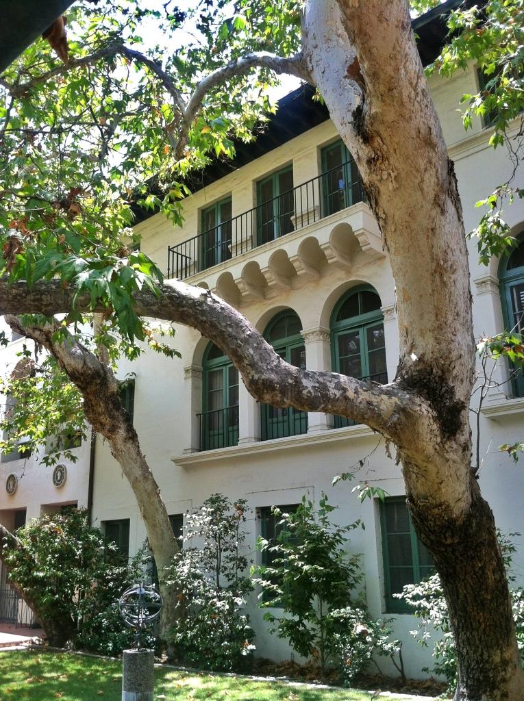 scripps tree courtyard